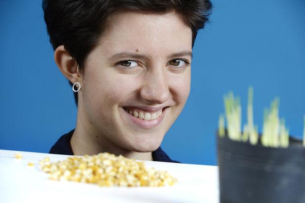Preisträgerin Jugend forscht 2016 (Biologie)