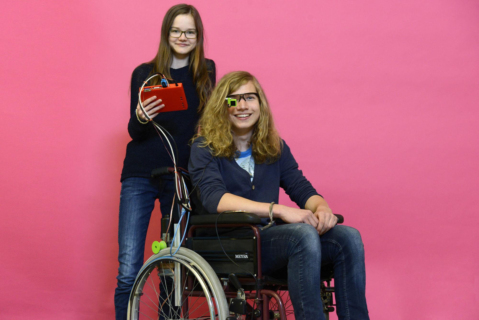 Auge steuert Rollstuhl – Eyetracking mit OpenCV